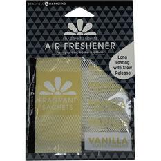 Auto Expressions Sachet Air Freshener - Vanilla, , scanz_hi-res