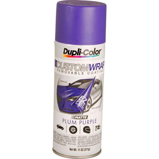 Dupli-Color Aerosol Paint Custom Wrap - Matte Plum Purple, 311g, , scanz_hi-res