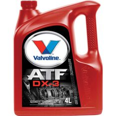 Valvoline Auto Transmission Fluid - DX3, 4 Litre, , scanz_hi-res