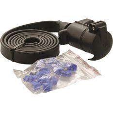 Trailer Socket Kit - 7 Pin, Large Round Plug, , scanz_hi-res