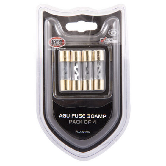 SCA Audio Fuse - 30Amp, 4 Pack, , scanz_hi-res