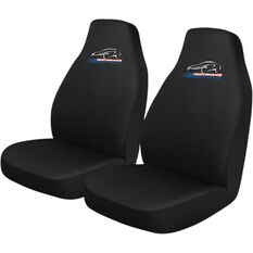 Performance Racing Slip On Seat Covers - Black, Built-in Headrests, Size 60, Slip On, Front Pair, , scanz_hi-res