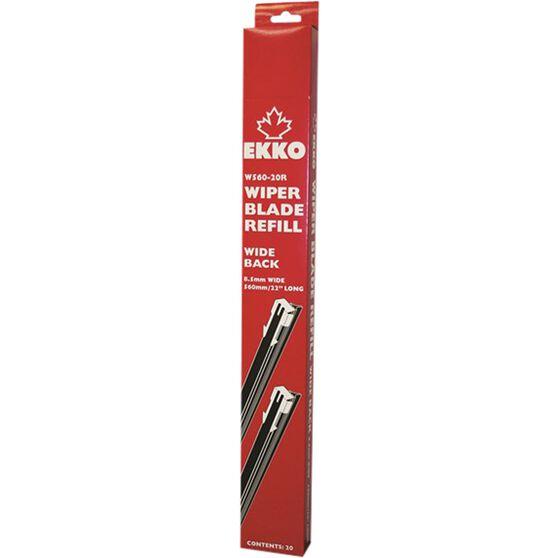 EKKO Wide Wiper Refill - 22in, 20 Pack, , scanz_hi-res