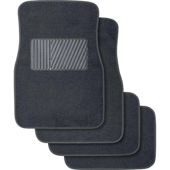 Best Buy Car Floor Mats 4 Pack - Carpet, Charcoal, , scanz_hi-res