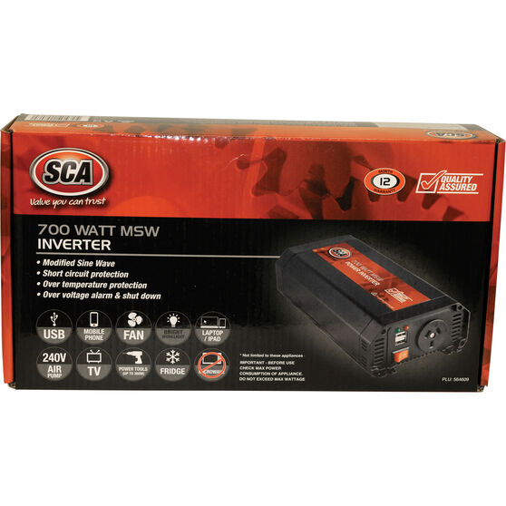 SCA MSW Power Inverter - 700W, , scanz_hi-res