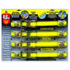 Ratchet Tie Down - 4.6m, 454kg, 4 Pack, , scanz_hi-res