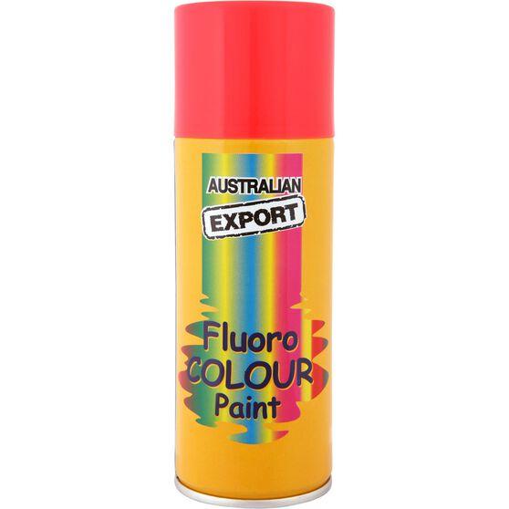 Export Enamel Aerosol Paint - Fluro Rocket Red, 125g, , scanz_hi-res