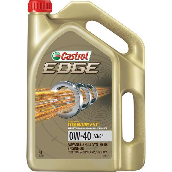 Castrol Edge Engine Oil - 0W-40 5 Litre, , scanz_hi-res