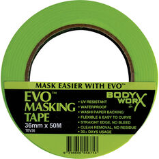 Bodyworx EVO Masking Tape - 36mm x 50m, , scanz_hi-res