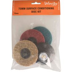 Velocity Roloc Pad and Spindle Conditioning Discs - 75mm, , scanz_hi-res