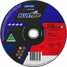 Norton Metal Cut off Disc - 230mm x 2.5mm x 22mm, , scanz_hi-res