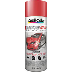 Dupli-Color Aerosol Paint Custom Wrap - Performance Red, 311g, , scanz_hi-res