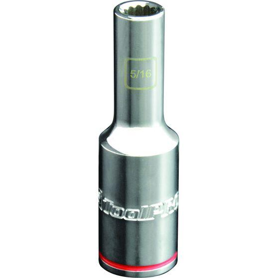 ToolPRO Single Socket - Deep, 1 / 2 inch Drive, 5 / 16 inch, , scanz_hi-res