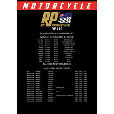 Race Performance Motorcycle Oil Filter RP112, , scanz_hi-res