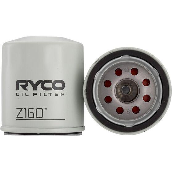 Ryco Oil Filter - Z160, , scanz_hi-res