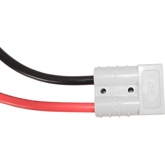 SCA 50 AMP Plug - Battery Clamp, 30cm, 8 AWG, , scanz_hi-res