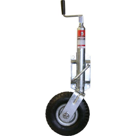 Trojan Jockey Wheel Pneumatic Tyre - 8 inch, , scanz_hi-res