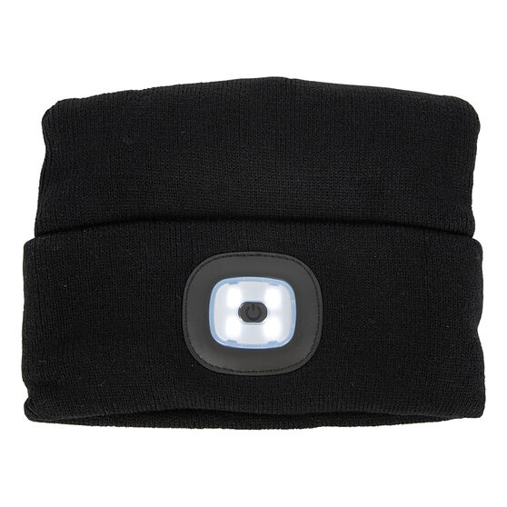 Rechargeable Headlight Beanie, , scanz_hi-res