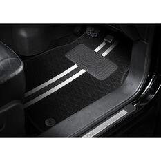 Dickies Espirit Floor Mats Front Pair Black/White, , scanz_hi-res