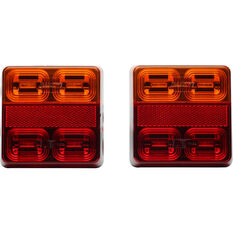 Trailer Lamp LED 12V Square 2 Pack, , scanz_hi-res