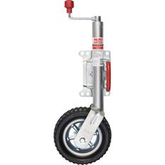 AL-KO 10 Inch Swivel Premium Jockey Wheel, , scanz_hi-res
