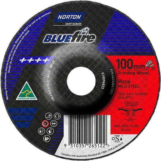 Grinding Disc - 100 x 6 x 16mm, , scanz_hi-res