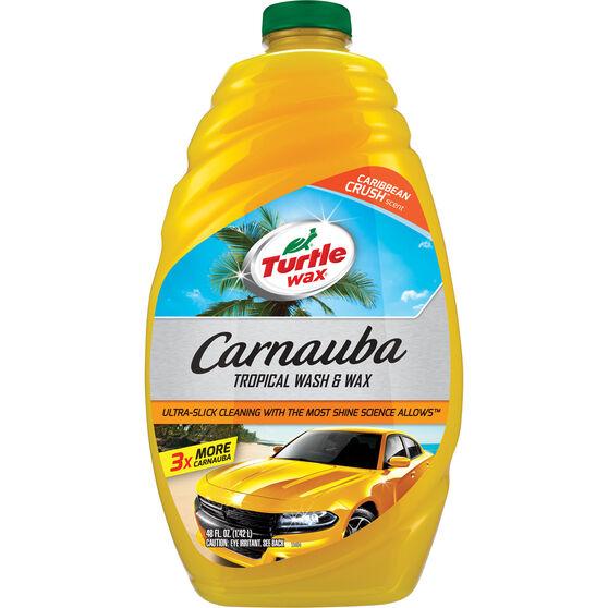 Turtle Wax Carnauba Wash and Wax - 1.42 Litre, , scanz_hi-res