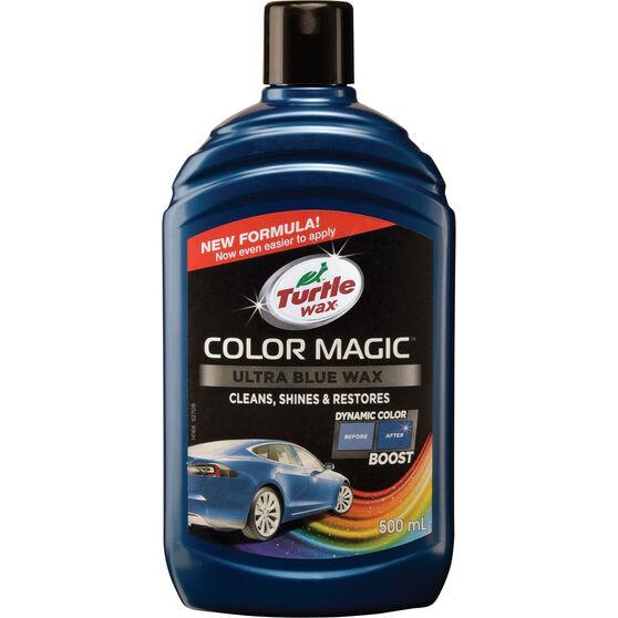 Turtle Wax Color Magic Polish Blue 500mL, , scanz_hi-res
