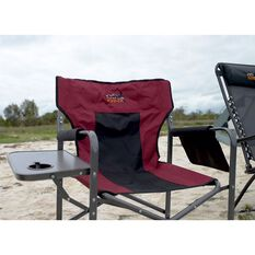 Ridge Ryder Directors Camping Chair - 120kg, , scanz_hi-res