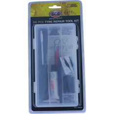 Tyre Repair Kit - 36 Piece, , scanz_hi-res
