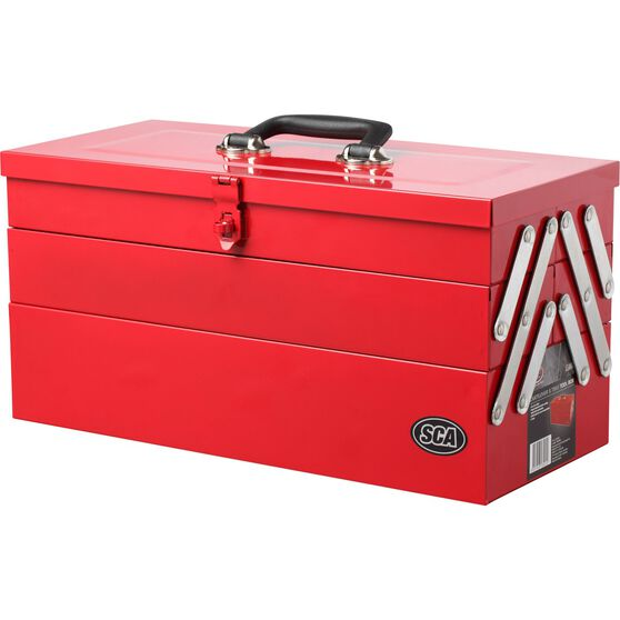 Tool Box - Metal, Cantilever 5 Tray, , scanz_hi-res