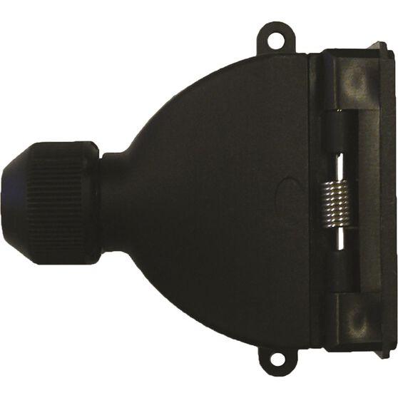 SCA Trailer Socket, Plastic - Flat, 7 Pin, , scanz_hi-res