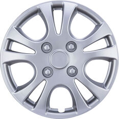 Best Buy Wheel Covers - Horizon, 13 inch, Silver, 4 Piece, , scanz_hi-res