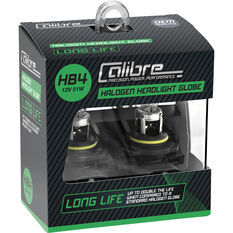 Calibre Long Life Headlight Globe HB4 12V 51W, , scanz_hi-res