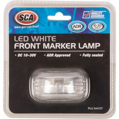 SCA Side Marker - LED, White, 10-30V, , scanz_hi-res