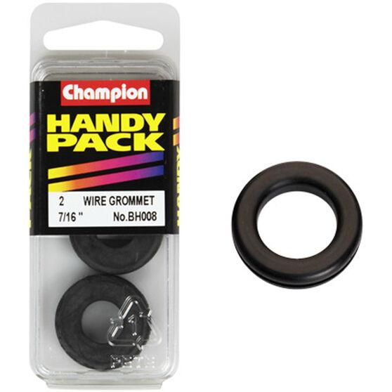 Champion Wiring Grommet - 7 / 8inch, BH008inch, Handy Pack, , scanz_hi-res