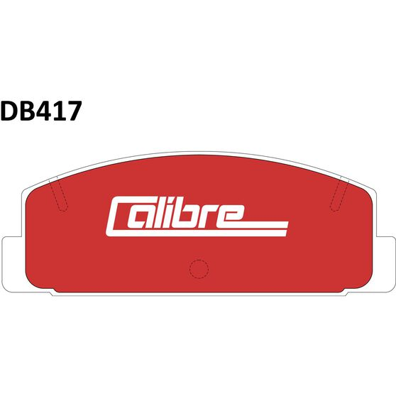 Calibre Disc Brake Pads - DB417CAL, , scanz_hi-res