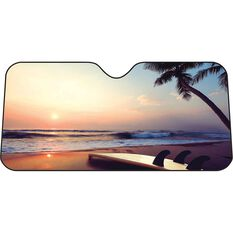 Beach Sunset Sunshade Fashion - Accordian Front, , scanz_hi-res