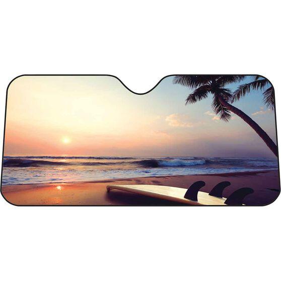 Beach Sunset Sunshade Fashion Accordion Front, , scanz_hi-res