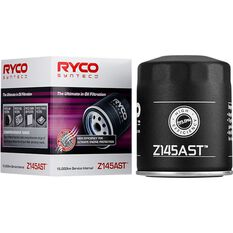 Ryco Syntec Oil Filter Z145AST (Interchangeable with Z145A), , scanz_hi-res