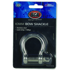SCA Bow Shackle - Stainless, 10mm, , scanz_hi-res