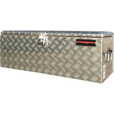 Thunderbox Tool Box - Aluminium Checkerplate, 114 Litre, , scanz_hi-res