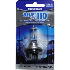 Narva Headlight Globe - Blue Plus 110, H7, 12V, 55W, , scanz_hi-res
