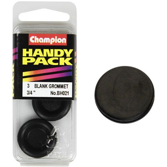 Champion Blanking Grommet - 3 / 4inch, BH021, Handy Pack, , scanz_hi-res