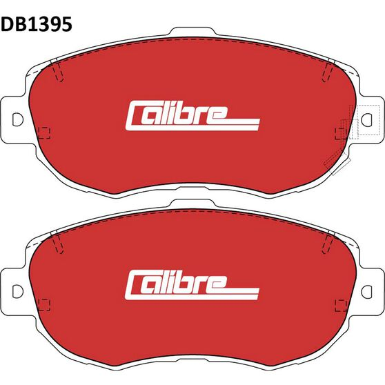 Calibre Disc Brake Pads DB1395CAL, , scanz_hi-res