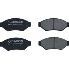 Trailer Brake Pad Kit - Hydraulic, Standard, 4 Piece, , scanz_hi-res