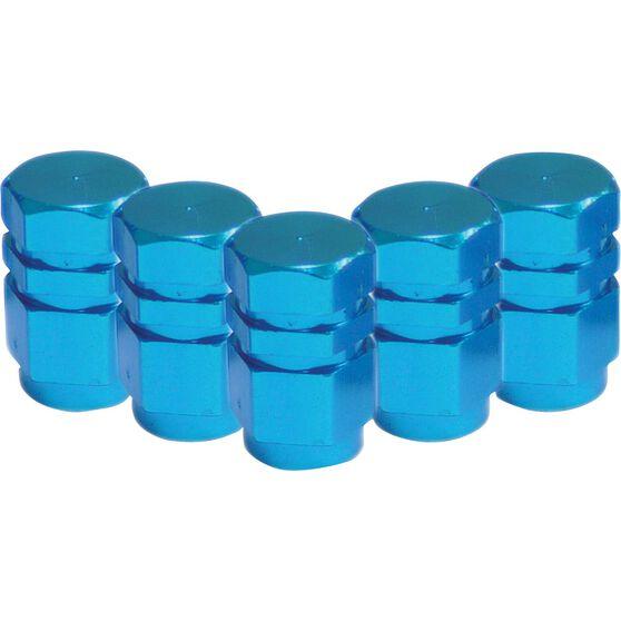 SCA Valve Stem Caps - Blue, 5 Pack, , scanz_hi-res