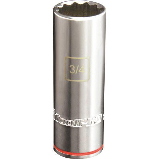 ToolPRO Single Socket - Deep, 1 / 2 inch Drive, 3 / 4 inch, , scanz_hi-res