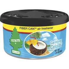 Little Trees Air Freshener Cannister - Caribbean Colada, 30g, , scanz_hi-res