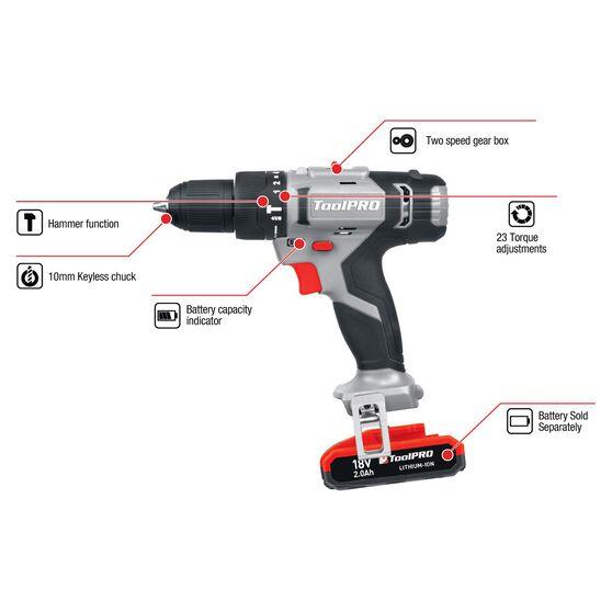 ToolPRO Hammer Drill Skin- 18V, , scanz_hi-res
